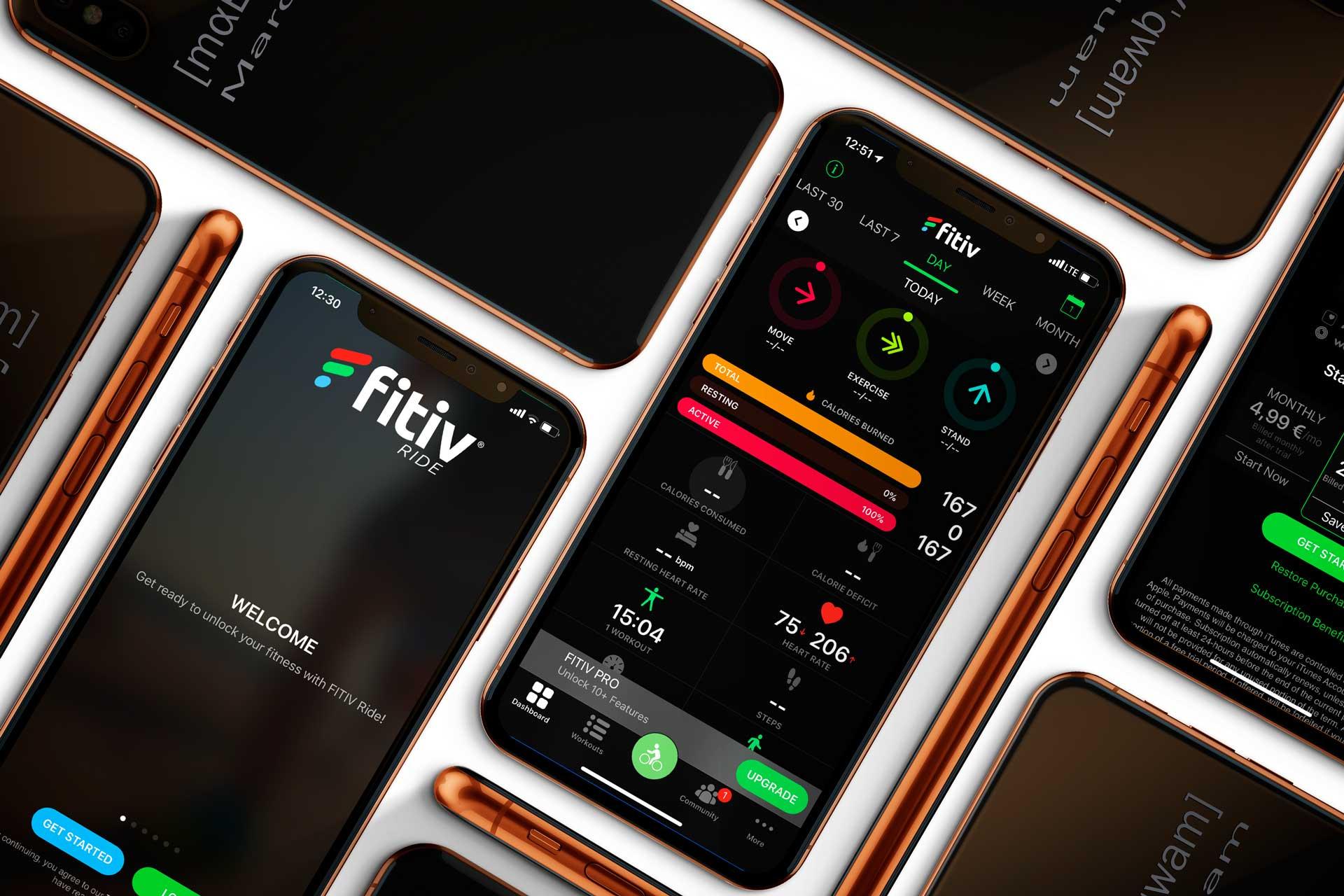 Die App: FITIV Ride
