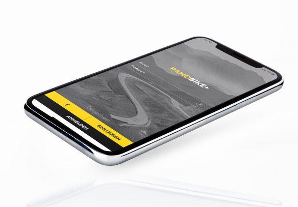 Die Panobike+ App