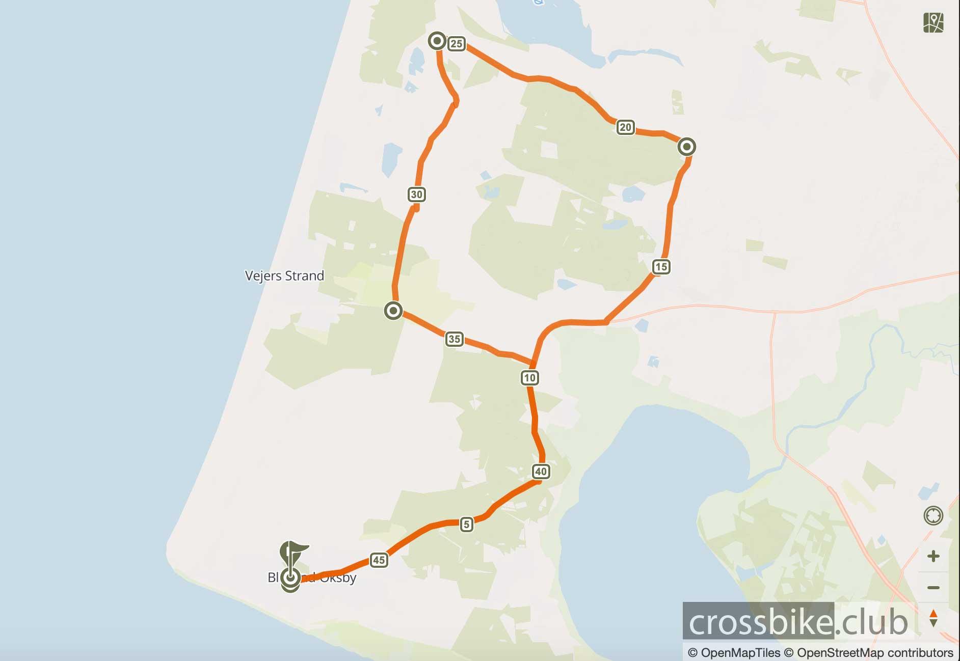 Radtour Blåvand nach Kærgård