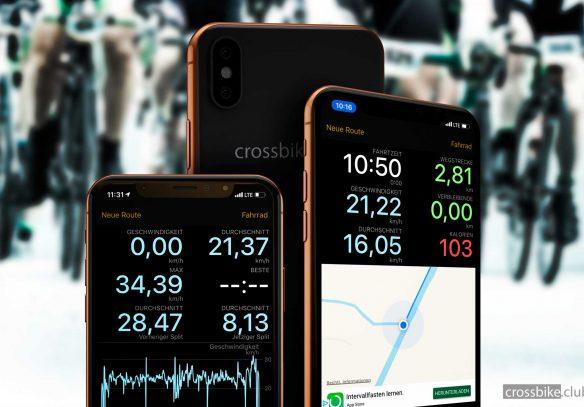 Titelbild Cyclemeter App