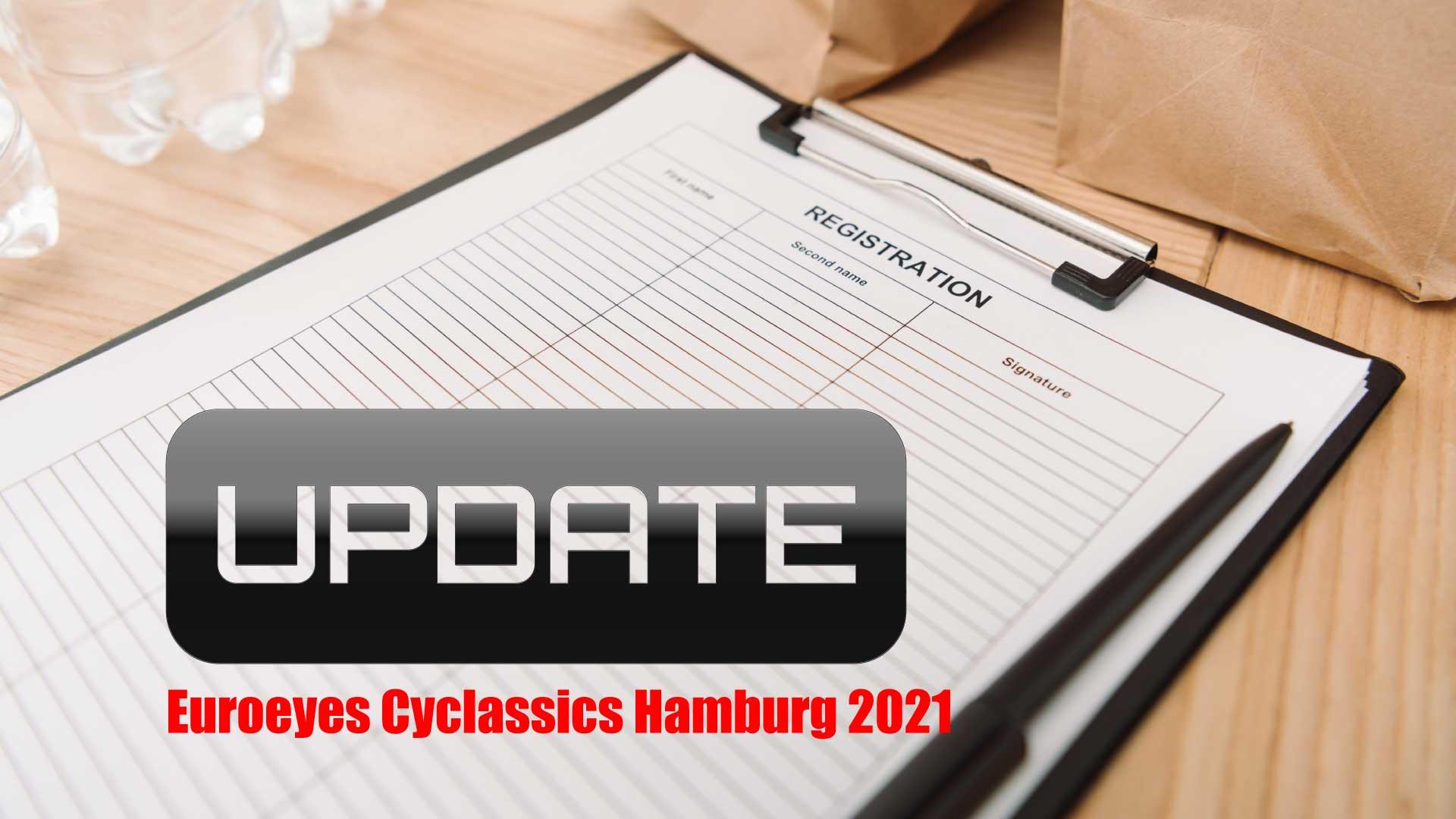 Anmeldelisten für Euroeyes Cyclassics Hamburg 2021