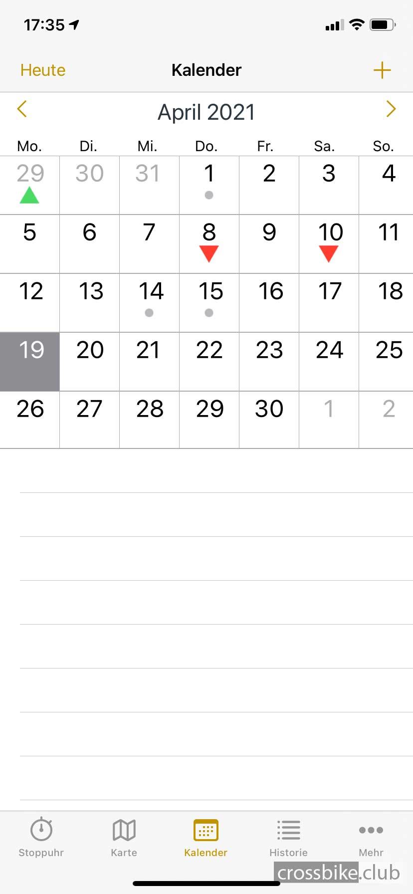 cyclemeter_kalender