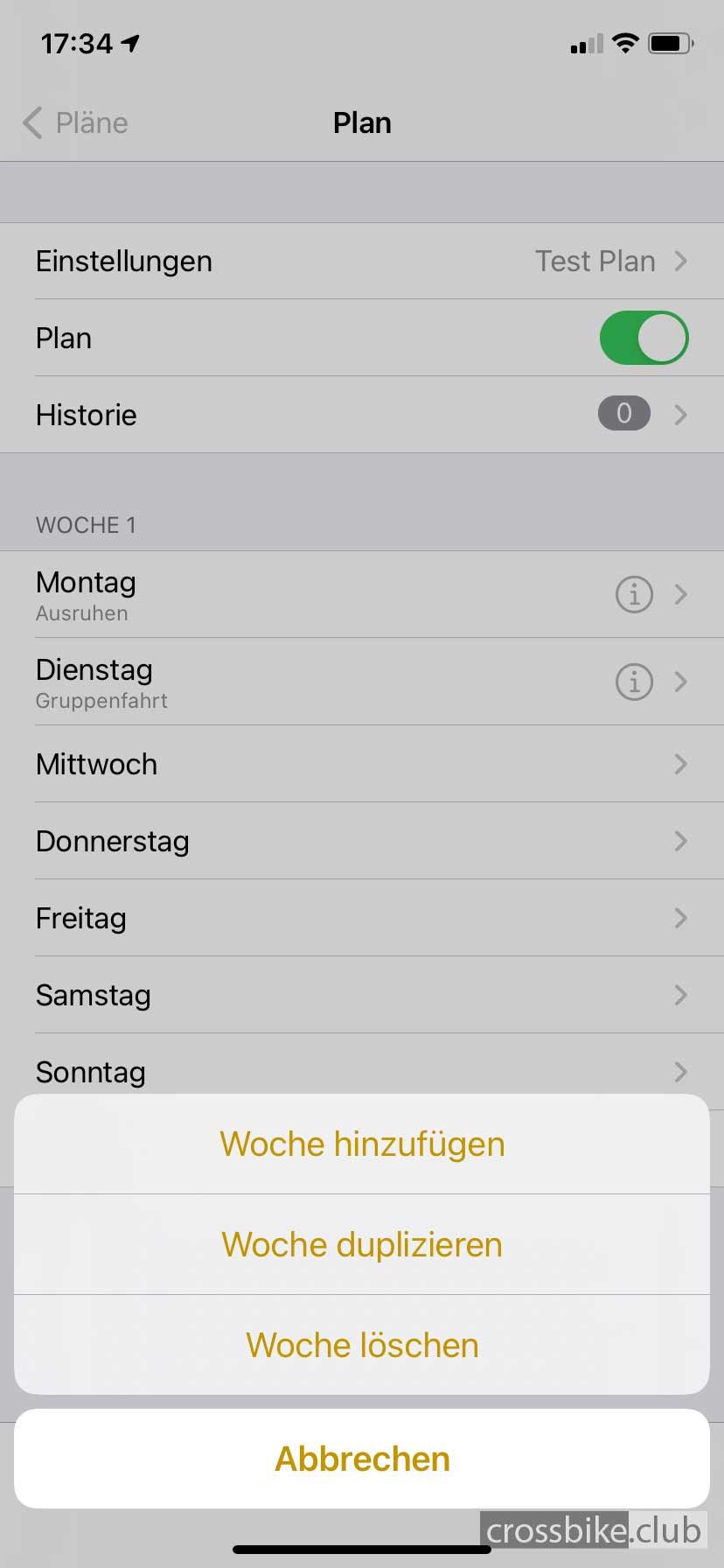 cyclemeter_plaene_neue_woche